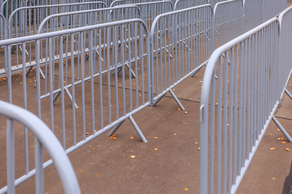 Crowd Control Barricade Rental Company Washington Dc